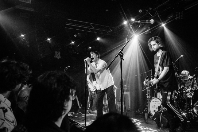 Fontaines D.C. photo by Rachel Bennett